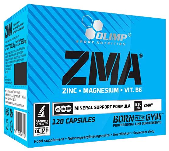 Минерально-витаминный комплекс Olimp ZMA (120 капсул)