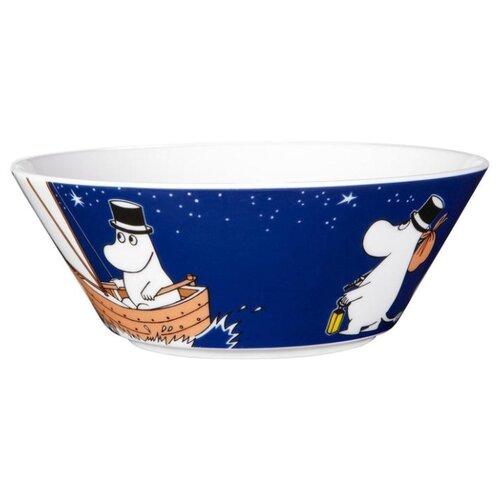 Moomin Пиала Moominmamma 15 см синий кружки muurla moomin кружка эмалированная moomin retro муми тролль 370 мл