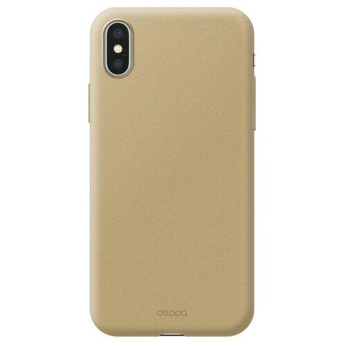 Фото - Чехол-накладка Deppa Air Case для Apple iPhone X/Xs золотой чехол deppa air case для apple iphone x xs синий