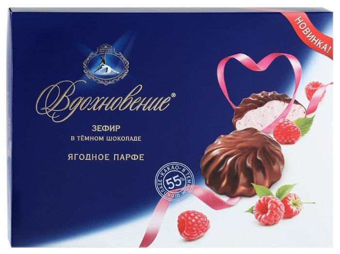 Зефир Вдохновение в темном шоколаде ягодное парфе, 245 гр.