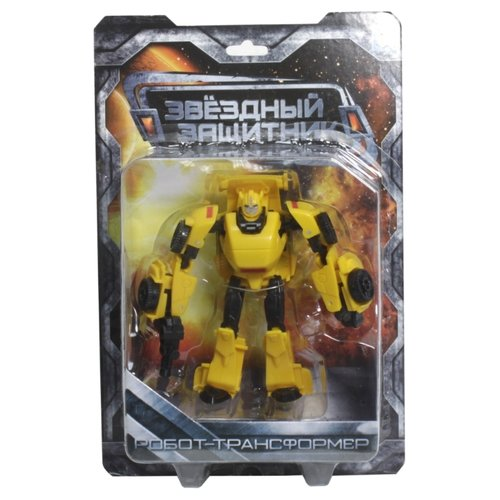 Купить Трансформер 1 TOY Звездный защитник Машина желтый, Роботы и трансформеры