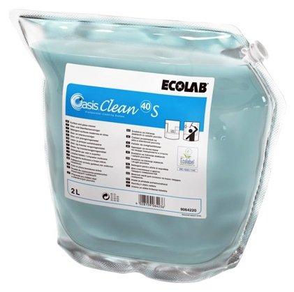 Жидкость Ecolab Oasis clean 40 S для всех водоустойчивых поверхностей