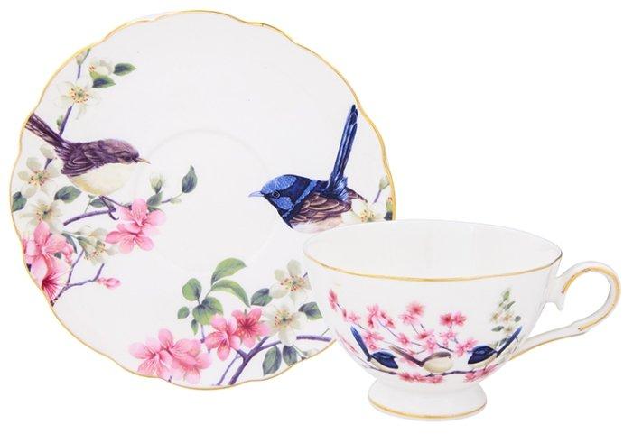 Elan gallery Чайная пара Райские птички 420023