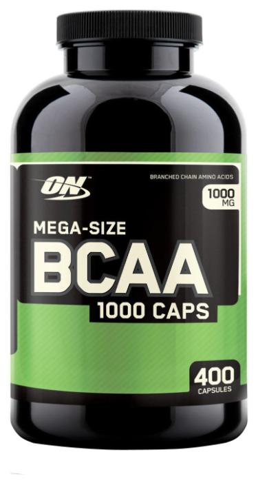 BCAA Optimum Nutrition BCAA 1000 (400 капсул)