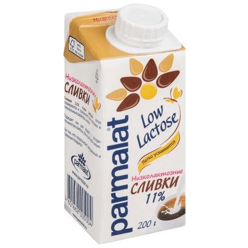 Сливки Parmalat ультрапастеризованные Low Lactose 11%, 200 гСливки<br>
