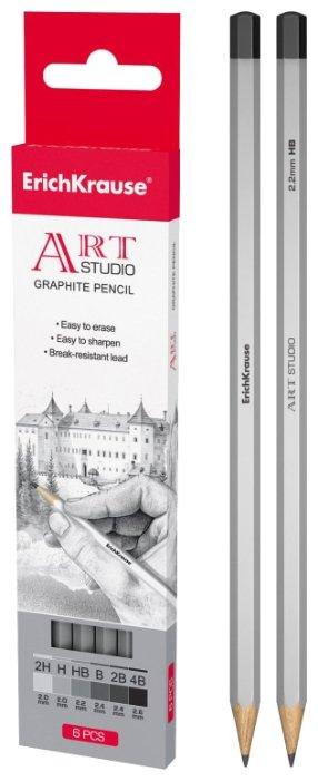 ErichKrause Набор чернографитных карандашей 6 шт (32869)