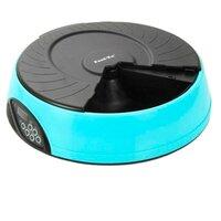 Автокормушка feedex для кошек и собак с жк дисплеем (розовая) pf2p, 4 кормления