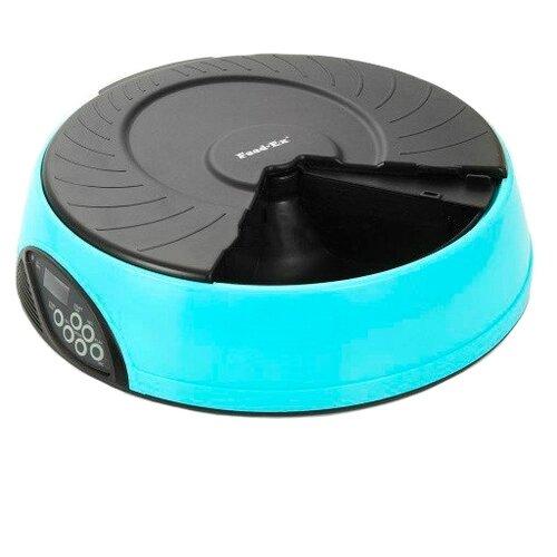 Автокормушка Feed-Ex для кошек и собак PF2 2 л голубой/черный по цене 3 368
