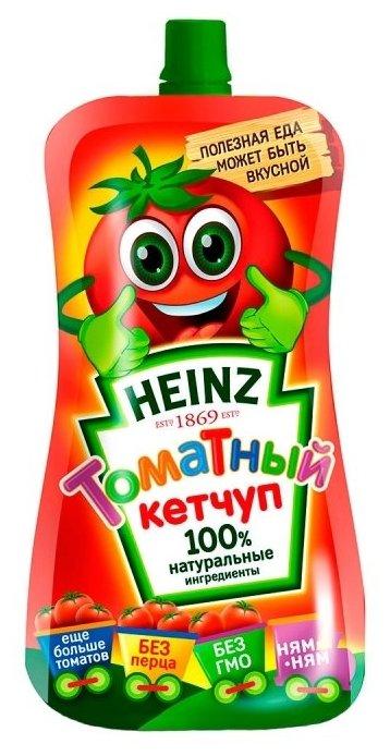 Кетчуп Heinz Томатный НЯМ-НЯМ, дой-пак