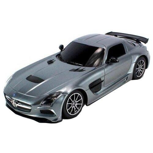 Купить Легковой автомобиль Rastar Mercedes-Benz SLS AMG (54100) 1:18 серый, Радиоуправляемые игрушки