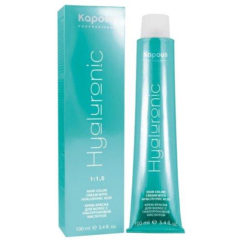 Купить Kapous Professional Hyaluronic Acid Крем-краска для волос с гиалуроновой кислотой, 5.757 светлый коричневый пралине, 100 мл