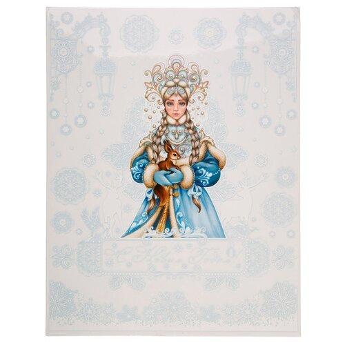 Фото - Наклейка Феникс Present Снегурочка 30 x 38 см наклейка феникс present морозный узор 54 x 21 см