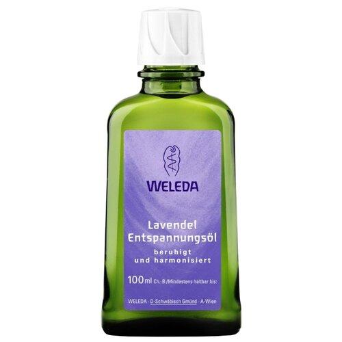 Масло для тела Weleda Лавандовое расслабляющее, бутылка, 100 мл масло для тела weleda лавандовое расслабляющее бутылка 100 мл