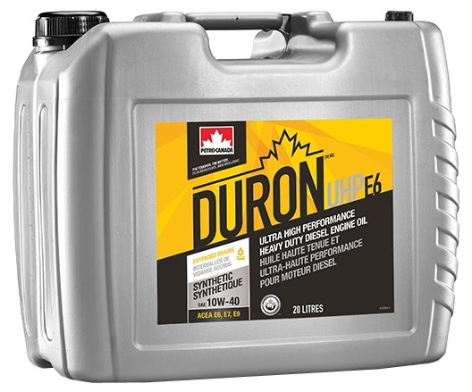 Моторное масло Petro-Canada Duron UHP E6 10W-40 20 л