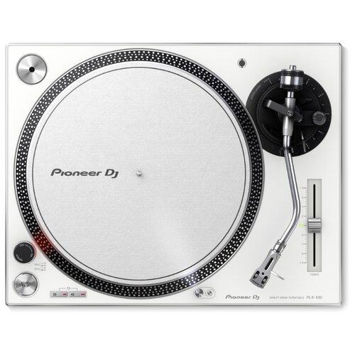 Виниловый проигрыватель Pioneer PLX-500 белый
