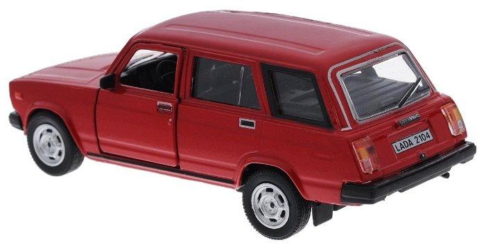 Легковой автомобиль Autotime (Autogrand) Lada 2104 Гражданская (32674) 1:36 11 см