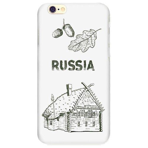 Чехол Mitya Veselkov IP6.МITYA-143 для Apple iPhone 6/iPhone 6S русская избаЧехлы<br>