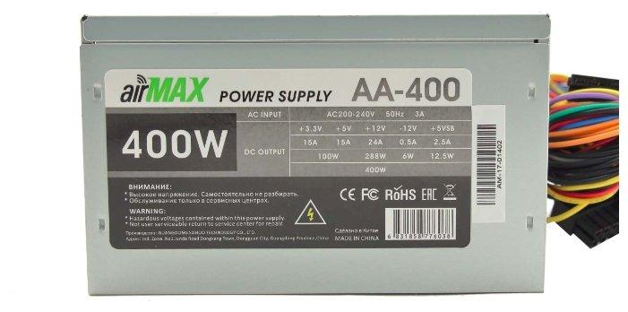 Airmax Блок питания Airmax AA-400 400W