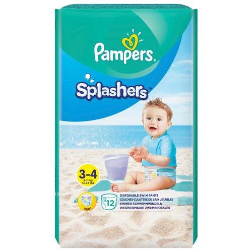 Pampers трусики Splashers (6-11 кг) 12 шт.Подгузники<br>