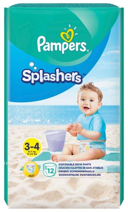 Pampers трусики Splashers (6 11 кг) 12 шт.