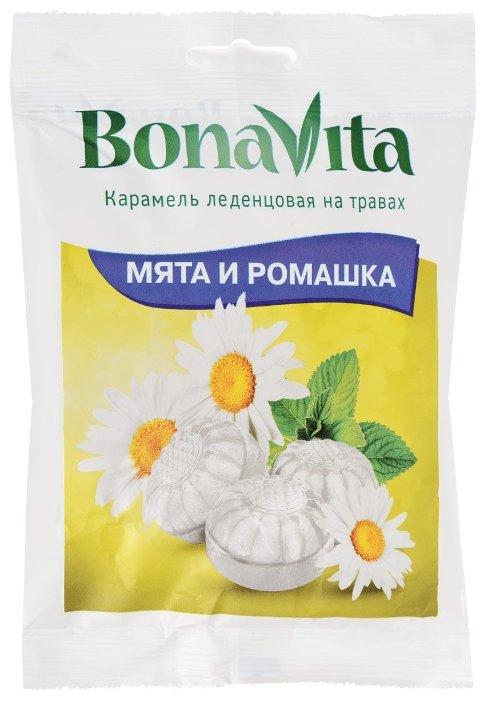 Карамель леденцовая Bona Vita Мята и ромашка 60 г