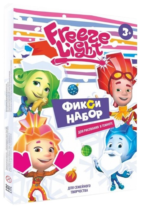 Планшет детский Freeze Light А4 Фиксики Зима