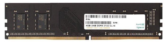 Оперативная память Apacer DDR4 2133 DIMM 4Gb
