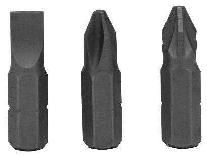 Бита Vira 554103 3 шт 25 мм SL0.6х5 PH1 PZ1