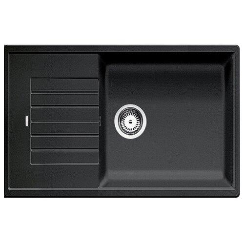 Врезная кухонная мойка 78 см Blanco Zia XL 6 S Compact антрацит кухонная мойка blanco zia xl 6 s compact жемчужный 523276