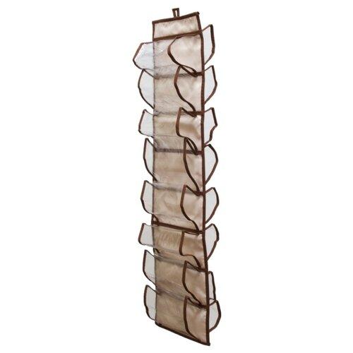 HOMSU Органайзер для колготок, шарфов и мелочей Bora-Bora бежевый/коричневый