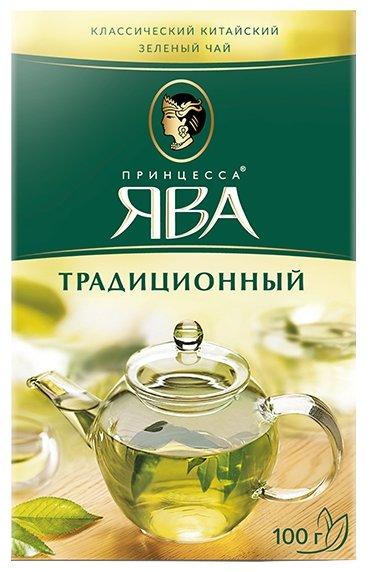 Чай зеленый Принцесса Ява Традиционный, 100 г
