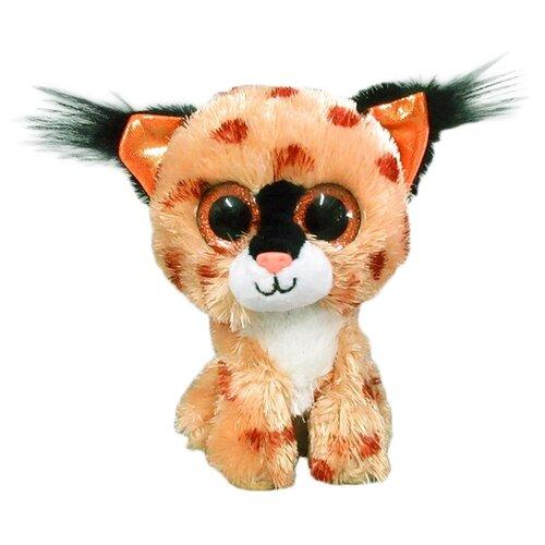 Купить Мягкая игрушка Yangzhou Kingstone Toys Рысь коричневая 15 см, Мягкие игрушки