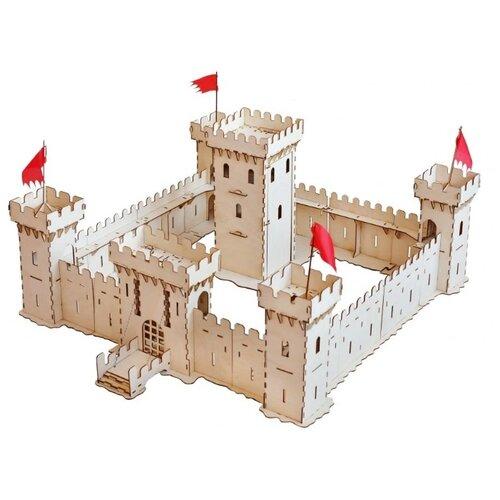 Сборная модель Большой слон Большая Средневековая Крепость (Д-003) ид лев minecraft средневековая крепость
