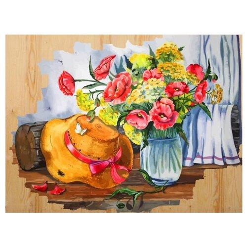 """Color Kit Картина по номерам """"Соломенная шляпка"""" 40х50 см (DER007)"""