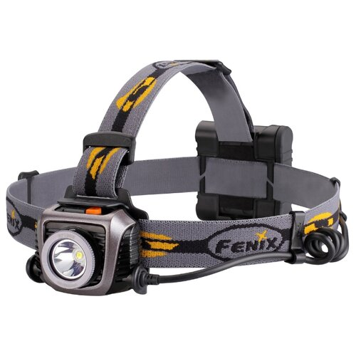 Налобный фонарь Fenix HP15UE серый