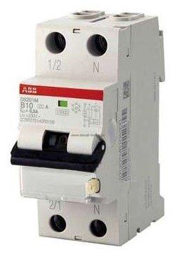 Дифференциальный автомат ABB DS201 L 2П 30 мА C 16 А