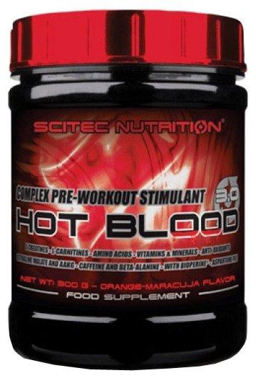 Предтренировочный комплекс Scitec Nutrition Hot Blood 3.0 (300 г)