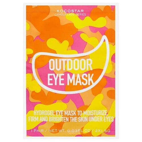 Kocostar Гидрогелевые патчи для глаз на тканевой основе Camouflage Hydrogel Eye Mask (2 шт.)