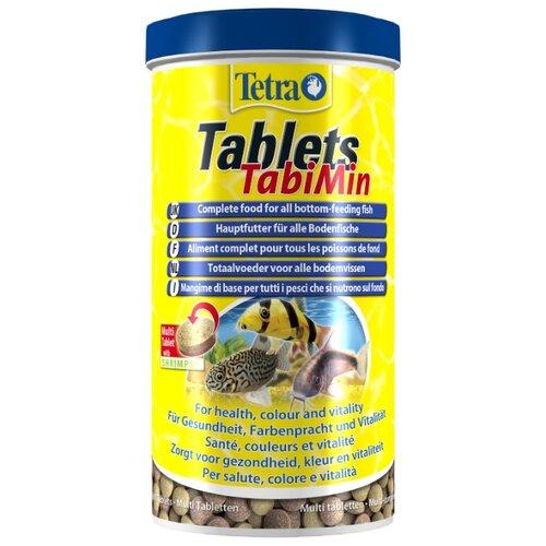 Сухой корм Tetra Tablets TabiMin для рыб 2050 шт. корм для рыб tetra tablets tabimin для всех видов донных рыб 1040таб