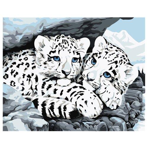 Купить Dimensions Картина по номерам Детеныши снежного леопарда 28х36 см (DMS-91079), Картины по номерам и контурам