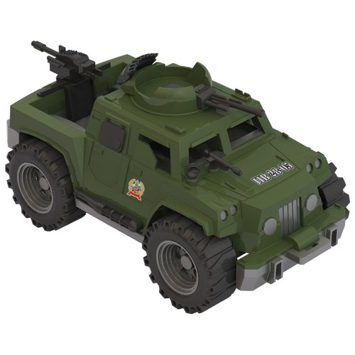 Купить Бронетранспортер Нордпласт Дозор (240) 31.5 см зеленый, Машинки и техника