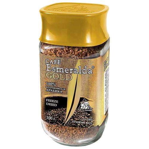 Кофе растворимый Cafe Esmeralda Gold 100 гРастворимый кофе<br>