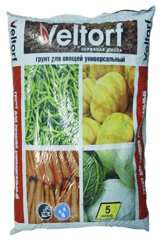 """Грунт Veltorf """"Для овощей. Универсальный"""", 5 литров"""