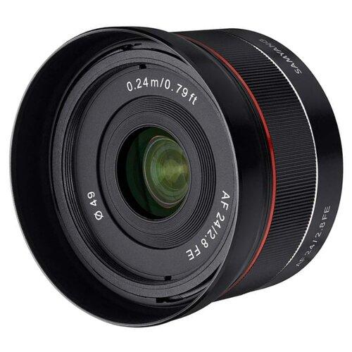 Фото - Объектив Samyang AF 24mm f/2.8 FE Sony E объектив samyang 14mm f 2 4 xp