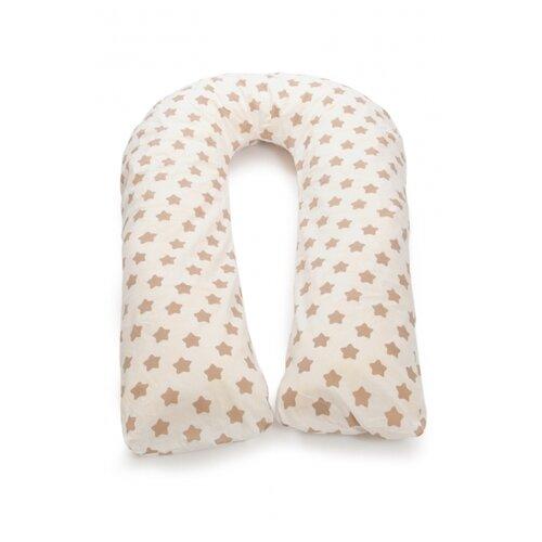 Купить Подушка Sonvol для беременных U 340 коричневые звезды, Подушки и кресла для мам