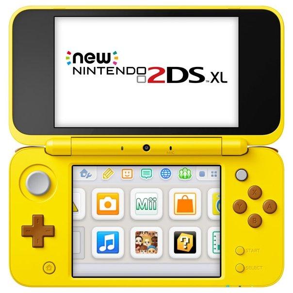 Nintendo Игровая приставка Nintendo New 2DS XL Pikachu Edition