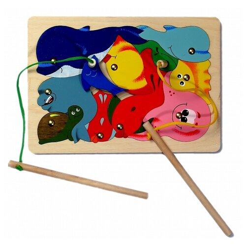 Фото - Бирюлька Крона Рыбалка красный/синий бирюлька djeco рыбалка цвета разноцветный