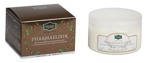 GreenPharma Маска для волос PharmaElixir (ФармаЭликсир) при выраженном выпадении волос с экстрактом хинина, винограда и гинкго билоба