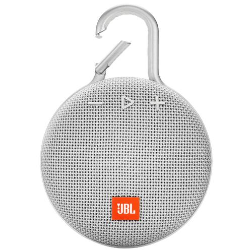 Портативная акустика JBL CLIP 3, steel white портативная акустика jbl go 3 white