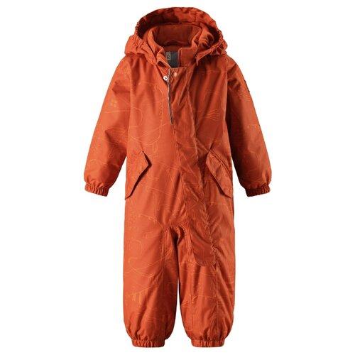 Купить Комбинезон Reima Bunny 510265 размер 74, оранжевый, Теплые комбинезоны